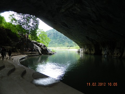 出口到Phong Nha洞穴。