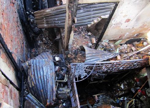 房子被彻底烧毁了。照片:An Nhon