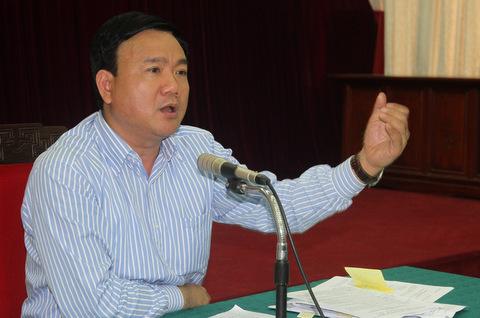 交通部长Dinh La Thang。照片:Nguyen Hung