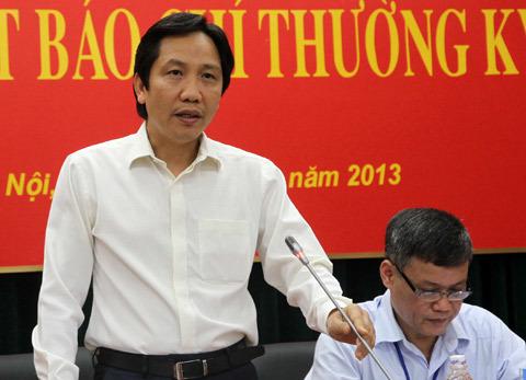 内政部副部长Tran Anh Tuan。照片:Nguyen Hung。