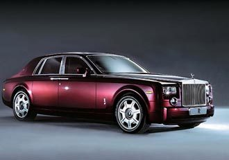 Roll-Royce Phantom.