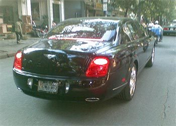 Chiếc Bentley Flying Spur.