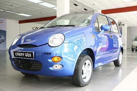 Chery QQ3 - mẫu xe Trung Quốc lắp ráp tại Việt Nam.