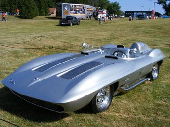 Chevrolet Corvette Stingray concept 1959.