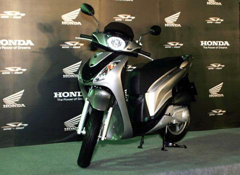 Honda SH tại lễ ra mắt ngày 7/11.