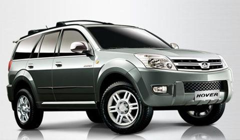 Great Wall Hover, một trong số những mẫu xe Trung Quốc xuất khẩu sang châu Âu.