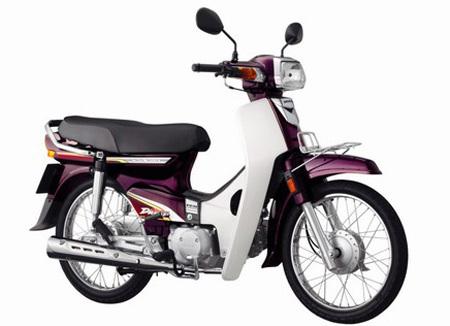 Mẫu Super Dream mới của Honda.
