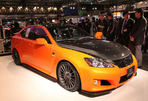 Lexus IS-F CCS concept