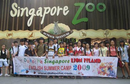 Du học hè Singapore 2010