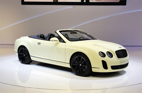 Bentley Continental SuperSport mui trần
