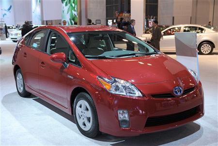 Mẫu Toyota Prius mới. Hãng xe Nhật Bản đang gặp phải những vấn đề nghiêm trọng về chất lượng, do phát triển quá nhanh. Ảnh: AFP.
