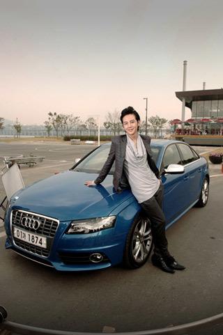 Jang Geun Seok và Audi S4