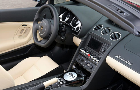 Lamborghini Gallardo LP560-4 với bộ vành hình sao
