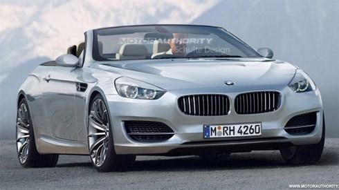 BMW serie 6 mui mềm thế hệ mới