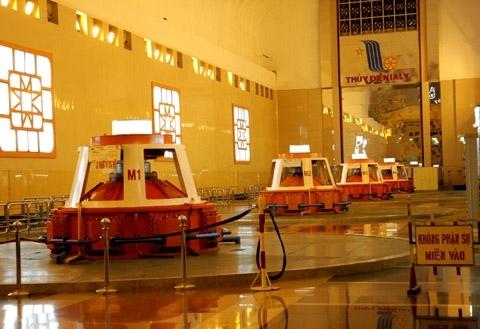 10- Tổng hành dinh của nhà máy là 4 tổ máy với công suất 720mw.
