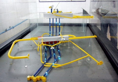 8- Mô hình của nhà máy thủy điện Yaly.