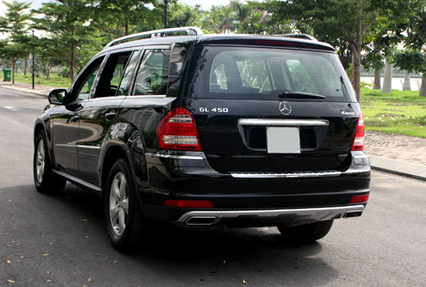 Mercedes-Benz GL450 4Matic