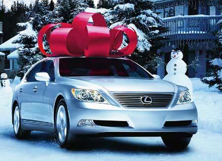 mua xe hơi làm quà tặng - 1