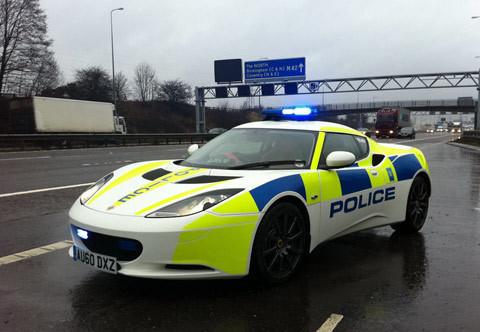 Lotus Evora Police