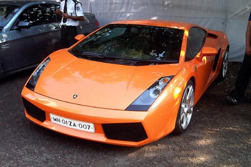Thêm một chiếc Lamborghini Gallardo.
