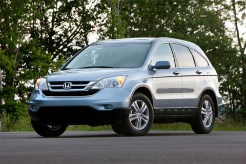 Honda CR-V bản nâng cấp (facelift) 2010.