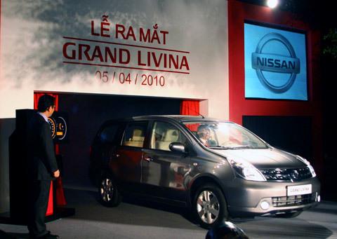 Livina - mẫu xe hơi được Nissan lắp ráp tại Việt Nam.