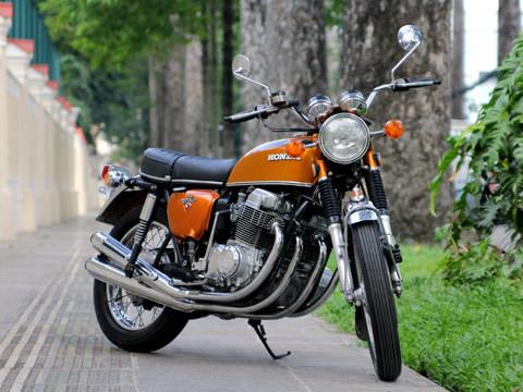 Honda CB750 mới được sưu tập về Việt Nam.