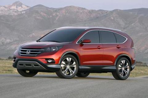 Mẫu ý tưởng của Honda CR-V 2012