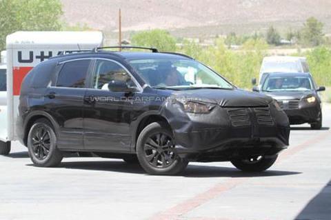 Ảnh chụp trộm Honda CR-V 2012