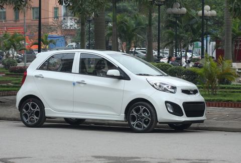 Kia Morning, dòng xe hạng nhỏ ăn khách tại Việt Nam.