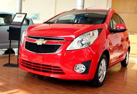 Chevrolet Spark được GM Việt Nam mới trình làng.