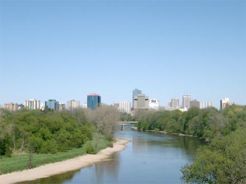 Một dòng sông ở Ontario. Ảnh: dwgt.net.