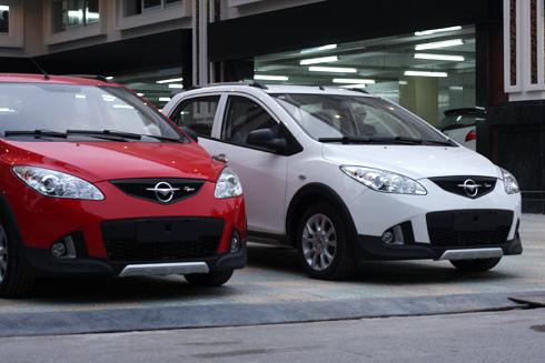 Haima2 - hatchback cùng phân khúc với Toyota Yaris, Ford Fiesta.
