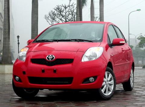 Toyota Yaris - mẫu xe được nữ giới ưa chuộng ở Việt Nam.