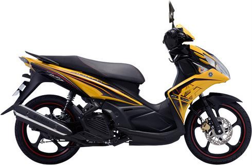 Yamaha Nouvo thế hệ thứ năm.