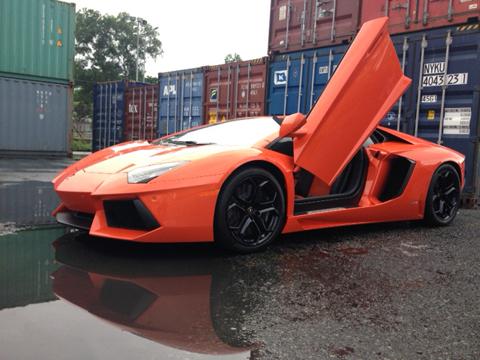 Siêu xe Lamborghini Aventador thứ hai tại Việt Nam.