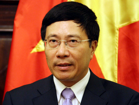 Bộ trưởng Ngoại giao Phạm Bình Minh. Ảnh: Phan Lê