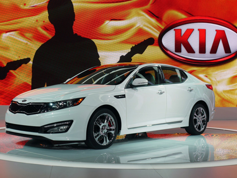 Kia Optima SX Limited 2013