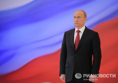 Tuesday marks the first 100 days since the inauguration of Vladimir Putin as Russian president on May 7. It was his third inauguration ceremony