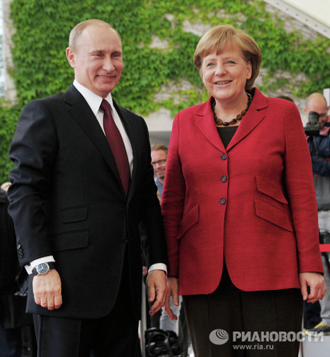 On June 1 in Berlin Russian President Vladimir Putin and Federal Chancellor of Germany Angela Merkel held talks in which they discussed the development of bilateral relations as well as international issues