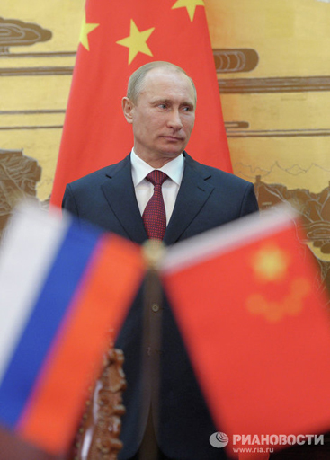 On June 5 Vladimir Putin made a two-day visit to China, where he held talks with the General Secretary of the Communist Party of China Hu Jintao