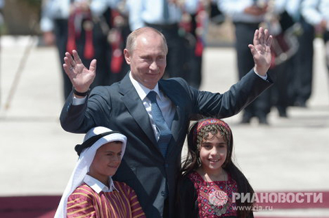 On June 26, on day two of his Middle East tour, Russian President Vladimir Putin visited Israel, the Palestinian territories and Jordan.