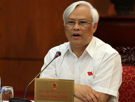 Việc luật hóa Ban chỉ đạo phòng, chống tham nhũng vẫn còn nhiều quan điểm khác nhau tại Ủy ban Thường vụ Quốc hội. Ảnh: N.Hưng.