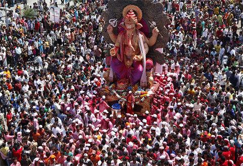 Kết quả hình ảnh cho Lễ hội Ganesha