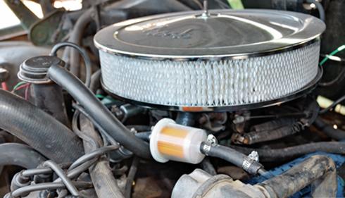 Tắc lòng xăng làm động cơ mất công suất hoặc chết máy giữa đường.