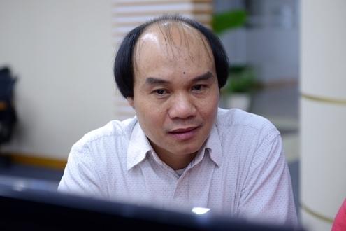 Thầy Đỗ Đức Thái, Phó trưởng khoa Toán - Tin, Đại học Sư phạm Hà Nội.