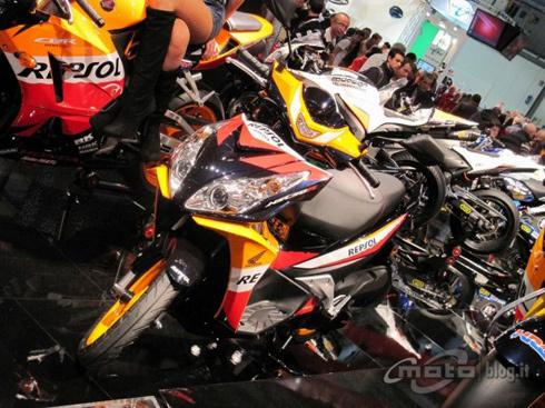 Honda NSC50R tại EICMA 2012. Ảnh: Motoblog.