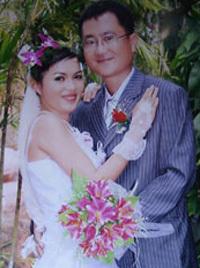 Tấm ảnh ngày cưới của Trần Thanh Lan. Ảnh: