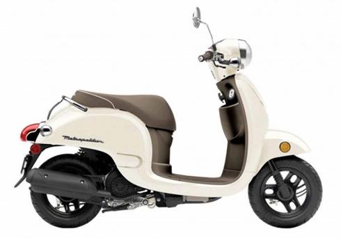 honda metropolitan - scooter nhỏ xinh cho nội thị