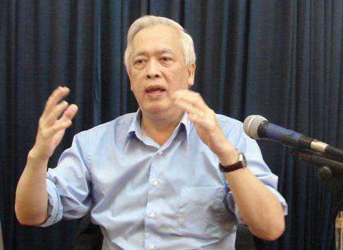 Giáo sư Trịnh Xuân Thuận. Ảnh: H.T.